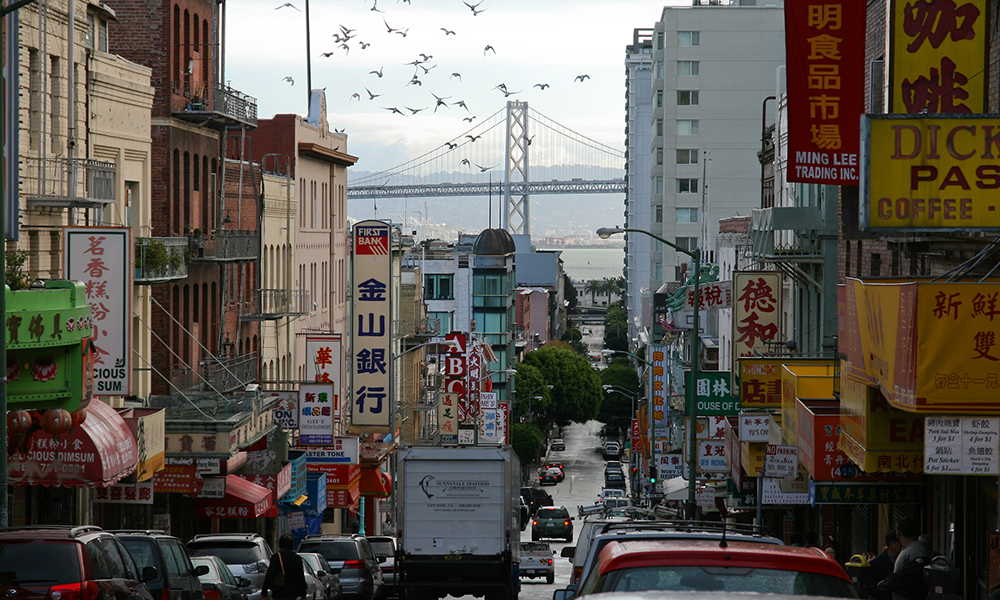 Photo of Chinatown neighborhood in San Francisco