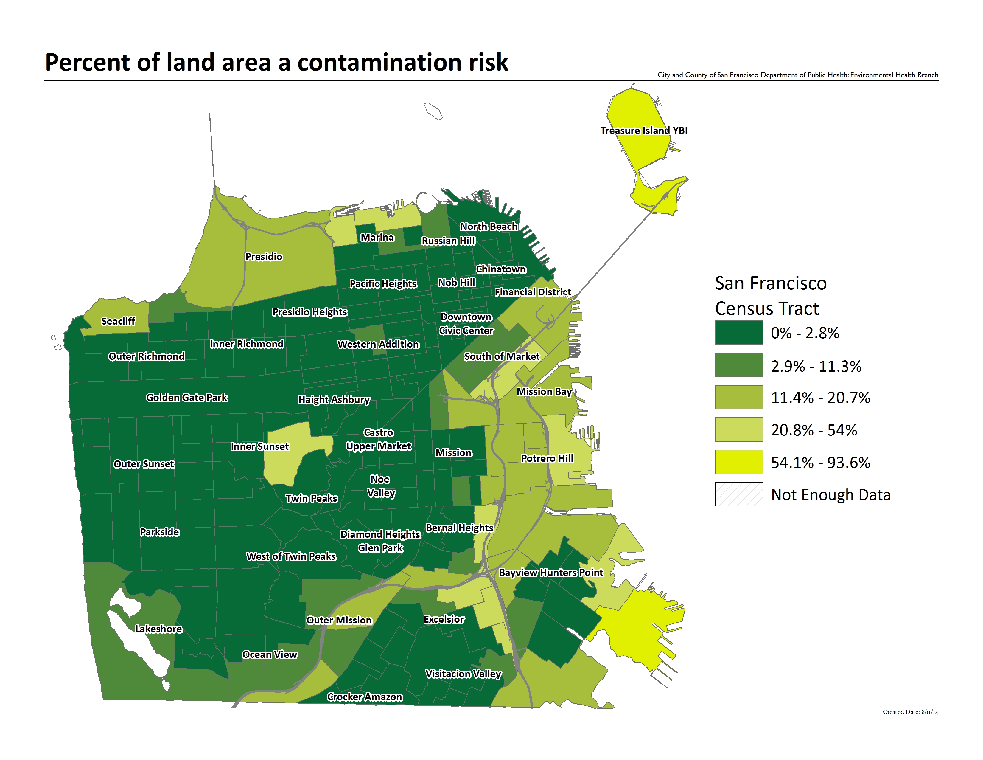 Contamination Risk | San Francisco Climate and Health Profile